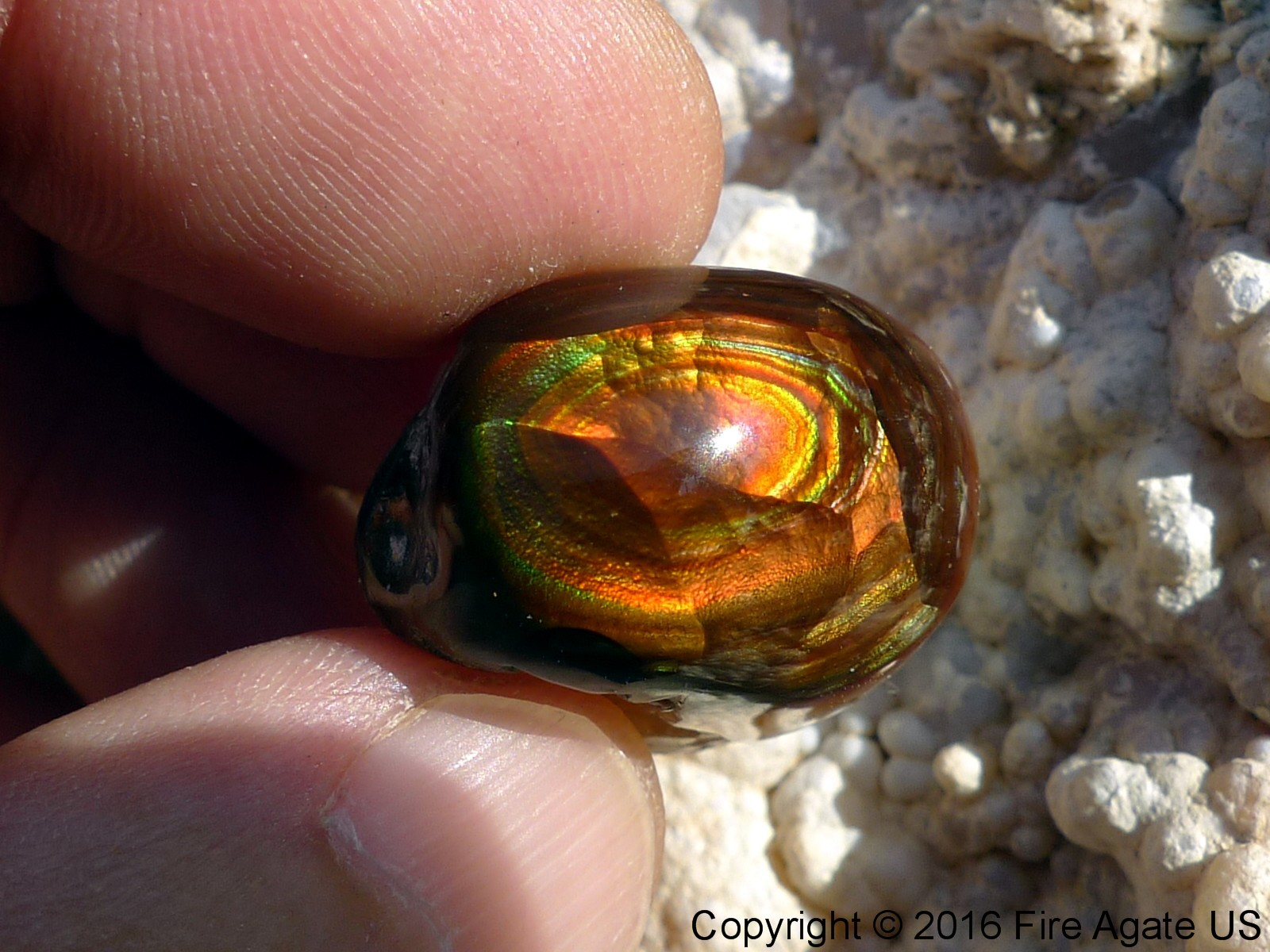Photo Mexican Fire Agate Rough MXW008